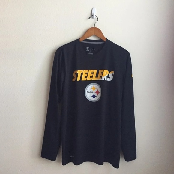 d0d13ba01ff Nike Shirts | Nfl Pittsburgh Steelers Long Sleeve Tee | Poshmark